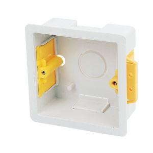 1 Gang Dry Lining Cavity Wall Box 35mm Deep