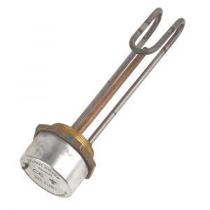 11 Inch 3kW Titanium Immersion Heater & Thermostat