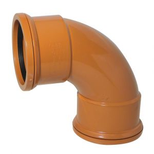 110mm Underground 87 Degree Double Socket Bend