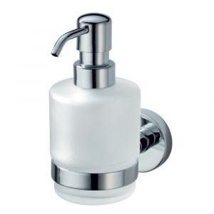 Kosmos Glass Push Down Soap Dispenser