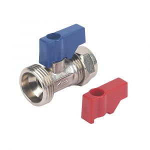 15mm Straight Compression Washing Machine Tap Valve