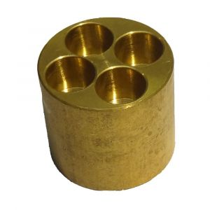 Brass 4 Port Manifold for Microbore Systems