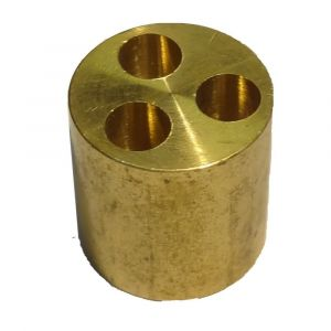 Brass 3 Port Manifold for Microbore Systems