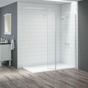 Merlyn Vivid 300mm Swivel Wetroom Flipper Panel DIEW3004