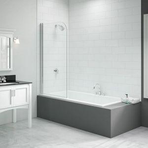 Merlyn Vivid Curved Bath Screen 800mm x 1500mm DIBS0012