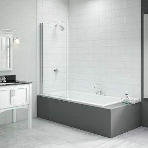 Merlyn Vivid Fixed Square Bath Screen 800mm x 1500mm DIBS0010