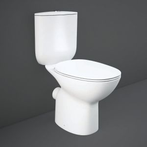 Rak Morning Full Access Rimless Close Coupled Wc Pack With Soft Close Seat