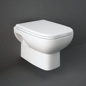 Rak Origin Wall Hung Pan With Soft Close Seat (Pp)