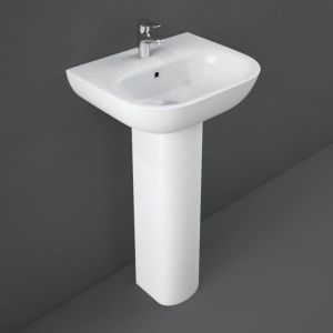 RAK Tonique 45cm Basin 1 Tap-Hole
