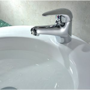 RAK Basic Mono Basin Mixer with Waste