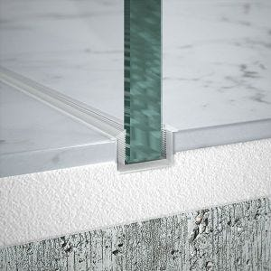 Merlyn Wetroom Flush Floor Profile