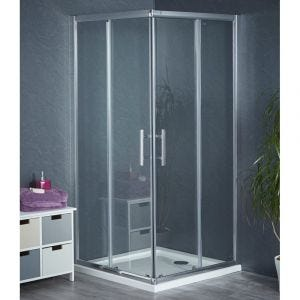 Aqua-I6 Corner Entry Shower Enclosure