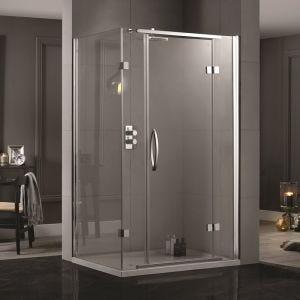 Aquadart Inline 2 Sided Frameless Shower Enclosure