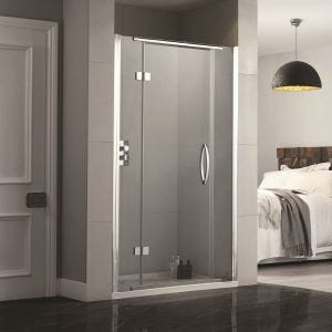 Aquadart Inline Recess Frameless Shower Doors