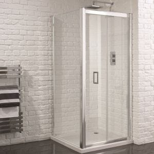 Aquadart Venturi 6 Frameless Bifold Shower Door