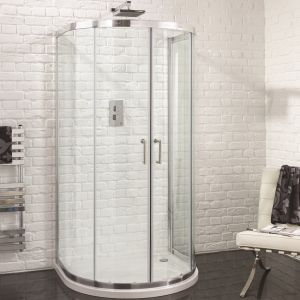 Aquadart Venturi 6 U Shaped Quadrant Shower Enclosure 915mm x 1040mm