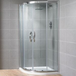 Aquadart Venturi 8 Double Door Quadrant Shower Enclosure