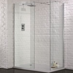 Aquadart Walk-In Wetroom Shower Panel