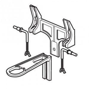 Armitage Shanks Concealed Waste Bracket to Suit 50cm/60cm Basin