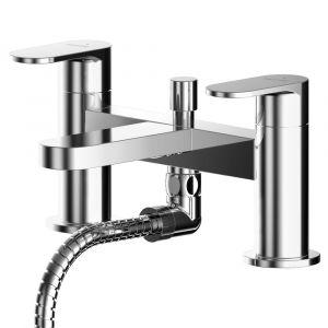Asquiths Solitude Deck Mounted Bath Shower Mixer