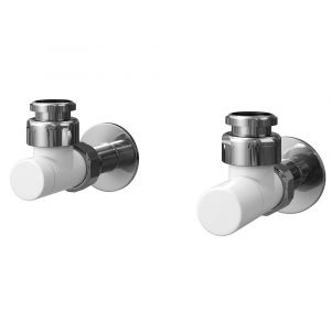 Asquiths Standard Manual Valves - Mineral White