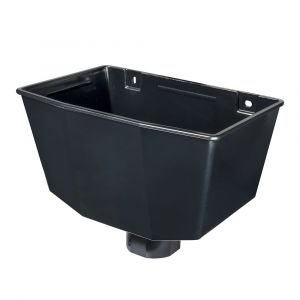 Black 68mm Round / Square Rain Water Hopper