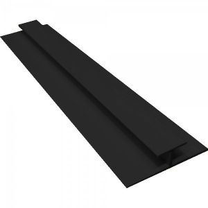 Black PVC H Joining Strip H2700mm D5mm