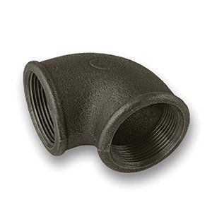 Black Iron Elbow 3/4