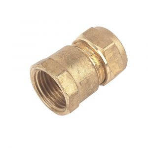 Brass Compression Female Iron Coupler