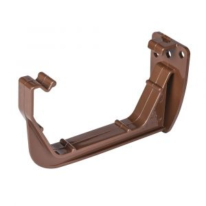 Brown 112mm Square Fascia Bracket