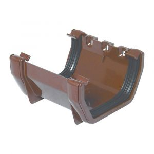 Brown 112mm Square Union Bracket
