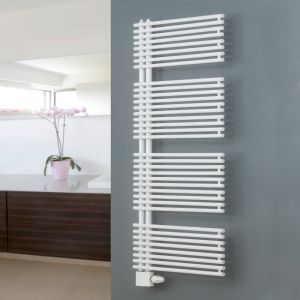 Eucotherm White Ceres Plus Towel Radiator 1271mm x 500mm