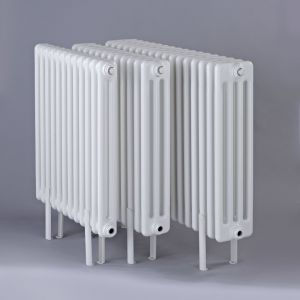 Biasi Tubular Slip on Feet for 2 Column Horizontal Radiators