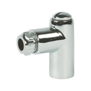 Chrome 8mm Restrictor Elbow 1