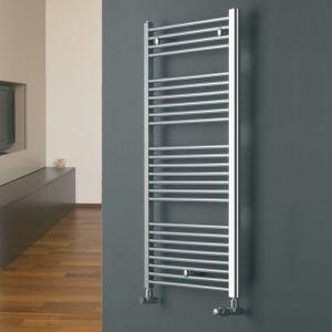 Eucotherm Chrome Chromo Straight Towel Radiator 916mm x 450mm