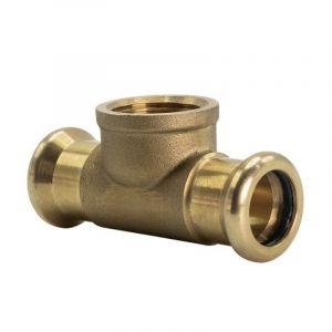 Copper Press-Fit 22 x 22 x RP 1/2