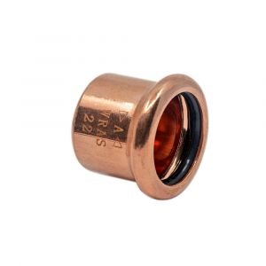 Copper Press-Fit Cap End 54mm