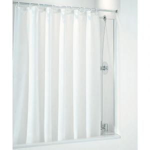 Coram Shower Curtain Screen 250mm White
