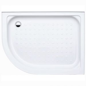 Coram Waterguard Riser Shower Tray 1200mm x 800mm Offset Quadrant Right Hand