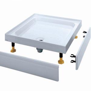 Coram Waterguard Riser Shower Tray 900mm x 760mm 4 Upstands