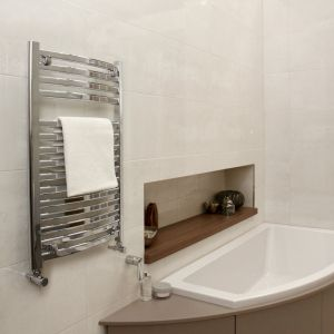 Vogue Chrome Curvee 800mm x 500mm Radiator
