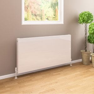 Eastbrook Type 11 Flat Panel Radiator 400mm x 600mm - Gloss White