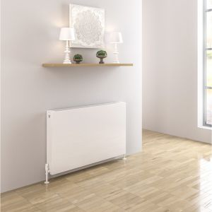 Eastbrook Type 22 Flat Panel Radiator 500mm x 400mm - Gloss White