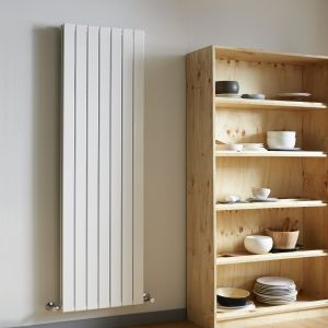 Vogue White Fly Line 1800mm x 228mm - Single Panel Radiator
