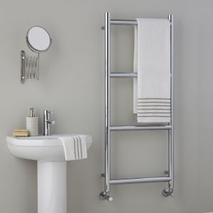 Vogue Grace 1200mm x 500mm Chrome Radiator