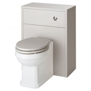 Kartell Astley Stone Grey Soft Close WC Seat