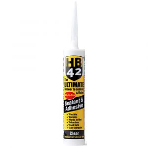 HB42 Ultimate Sealant Adhesive 310ml Cartridge - Clear