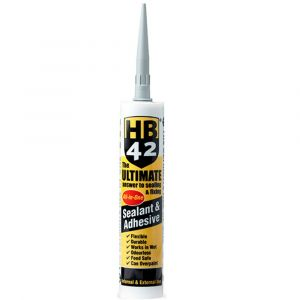 HB42 Ultimate Sealant Adhesive 310ml Cartridge - Grey