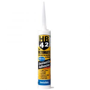 HB42 Ultimate Sealant Adhesive 310ml Cartridge - Invisible