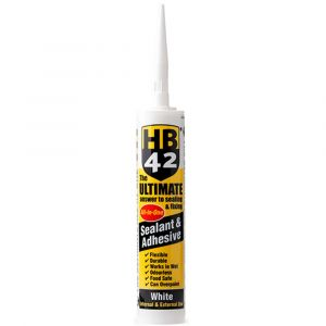 HB42 Ultimate Sealant Adhesive 310ml Cartridge - White